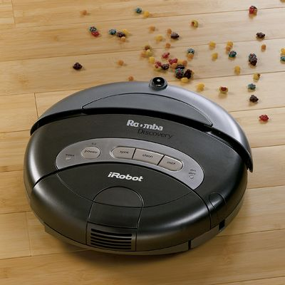 Roomba discovery se robotic floor vacuum - Can a roomba go from hardwood to carpet ...
